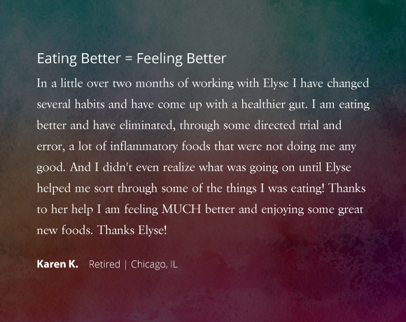 Eating Better = Feeling Better